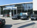 Fasada aluminowa salon sprzedaży MERCEDES