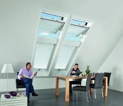 Okno dachowe Roto  Designo R6 widok wewnątrz